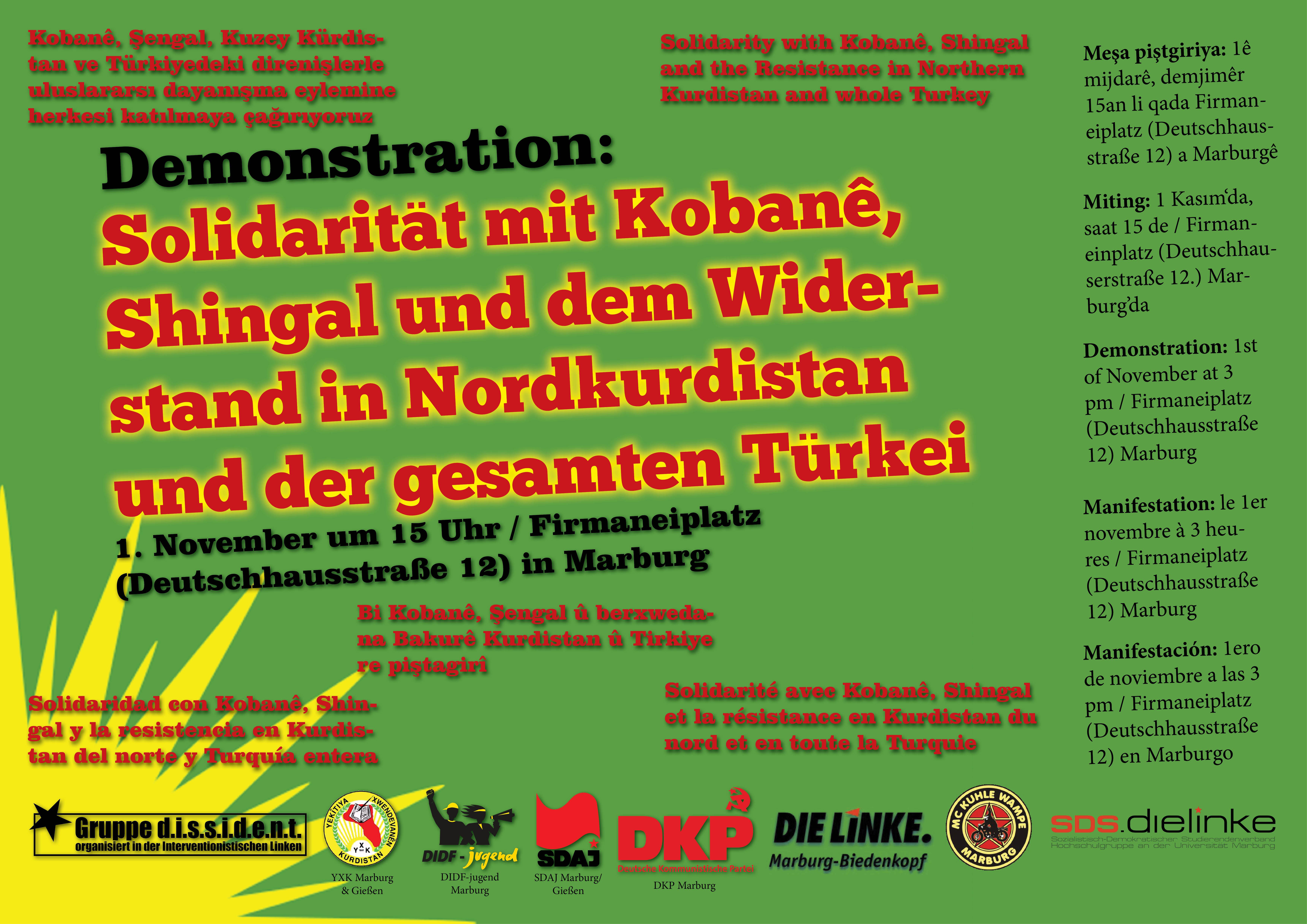 Demo Kurdistan 2014
