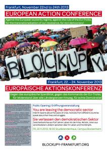 Plakat Aktionskonferenz